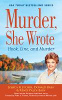 Cover image for Hook, line, and murder [sound recording (book on CD)]