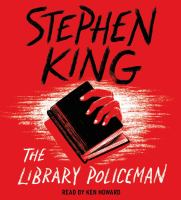 Cover image for The library policeman [sound recording (book on CD)]