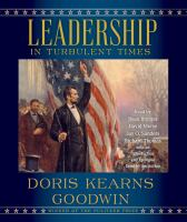 Cover image for Leadership [sound recording (book on CD)]