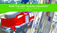 Cover image for Road trip with favorite characters! Brain breaks [electronic resource (Playaway Launchpad)].