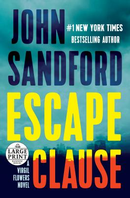 Cover image for Escape clause [large type]