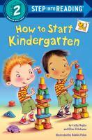 Cover image for How to start kindergarten
