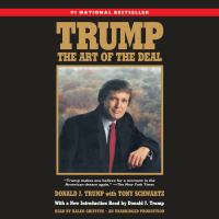 Cover image for Trump [sound recording (book on CD)] : the art of the deal