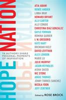 Cover image for Hope nation : YA authors share personal moments of inspiration