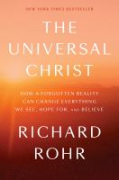 Cover image for The universal Christ