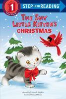 Cover image for The shy little kitten's Christmas