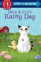 Cover image for Duck & Cat's rainy day / by Carin Bramsen.