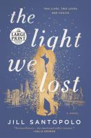 Cover image for The light we lost [large type]