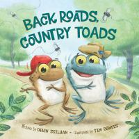 Cover image for Back roads, country toads