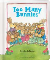 Cover image for Too many bunnies