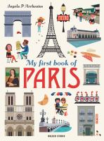 Cover image for My first book of Paris