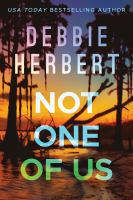 Cover image for Not one of us