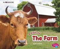Cover image for The farm : a 4D book