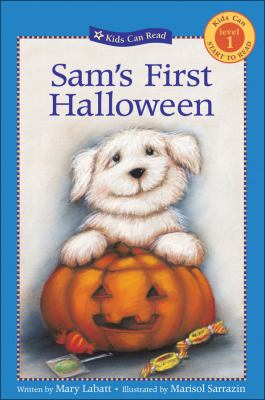 Cover image for Sam's first Halloween
