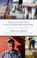 Cover image for American journal : fifty poems for our time