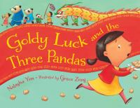 Cover image for Goldy Luck and the three pandas