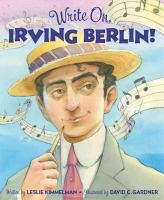 Cover image for Write on, Irving Berlin!