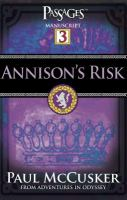 Cover image for Annison's risk