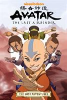 Cover image for Avatar, the last airbender : the lost adventures