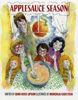 Cover image for Applesauce season
