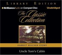 Cover image for Uncle Tom's cabin [sound recording (book on CD)]