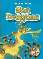 Cover image for Sea dragons