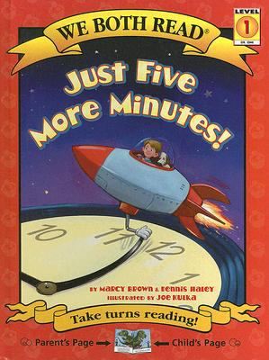 Cover image for Just five more minutes!