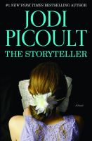 Cover image for The storyteller [large type]