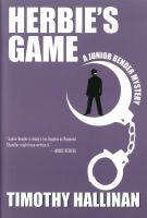 Cover image for Herbie's game : a Junior Bender Mystery