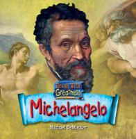 Cover image for Michelangelo