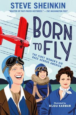 Cover image for Born to fly : the first women's air race across America