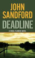 Cover image for Deadline [large type]