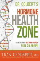 Cover image for Dr. Colbert's hormone health zone