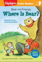 Cover image for Bear and Friends. Where Is Bear?