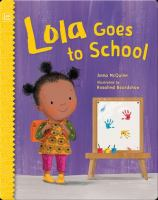 Cover image for Lola goes to school