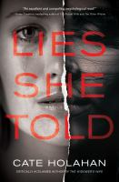 Cover image for Lies she told