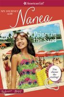 Cover image for Prints in the sand : my journey with Nanea