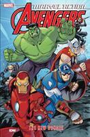 Cover image for Marvel action. Avengers. The new danger. Book 1