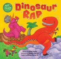 Cover image for Dinosaur rap