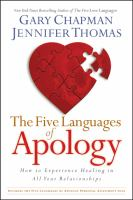 Cover image for The five languages of apology : how to experience healing in all your relationships
