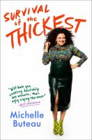Cover image for Survival of the thickest : essays