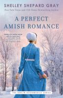 Cover image for A perfect Amish romance