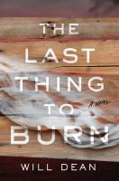 Cover image for The last thing to burn : a novel