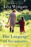 Cover image for The language of sycamores