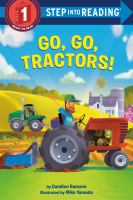 Cover image for Go, go, tractors!