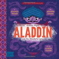 Cover image for Aladdin and the wonderful lamp