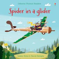 Cover image for Spider in a glider