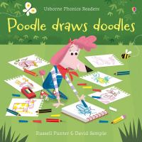 Cover image for Poodle draws doodles