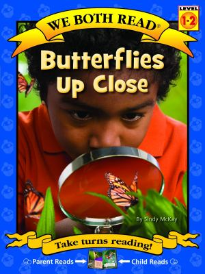 Cover image for Butterflies up close