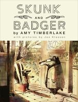 Cover image for Skunk and Badger